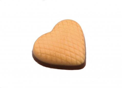 2501 Oranje hartjes duplo