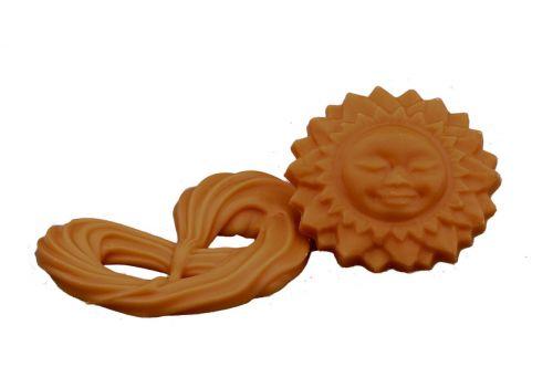 2505 Chocolade Oranje zon en krakelingen met sinaasappelsmaak