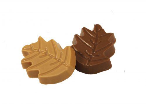 3145 Blaadjes caramel/ cappuccino