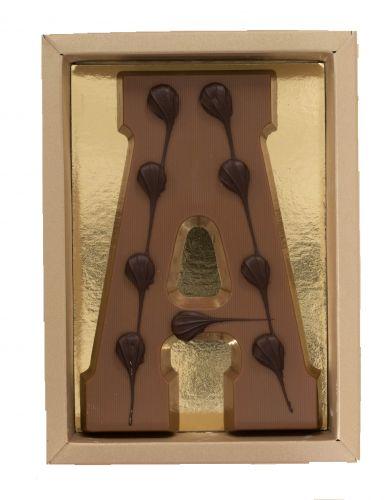 6617 Chocoladeletter (vorm) 200 gr melk