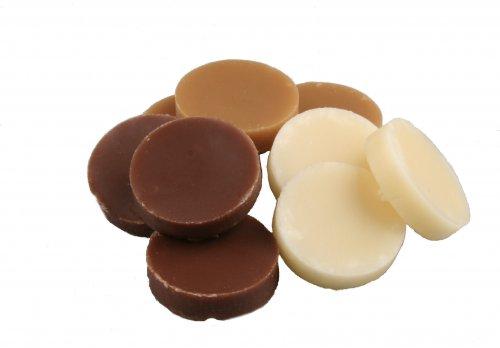 6901 Roomborstplaat assortie vanille-mokka-choc