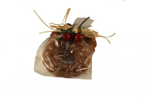7331 Chocolade krans 50 gram verpakt