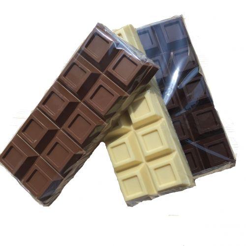 941 ** NIEUW **chocolade reep groot
