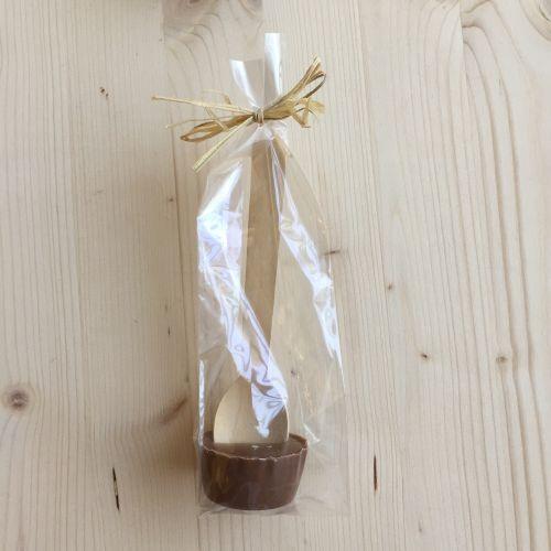 1360 Chocolademelk lepel melk