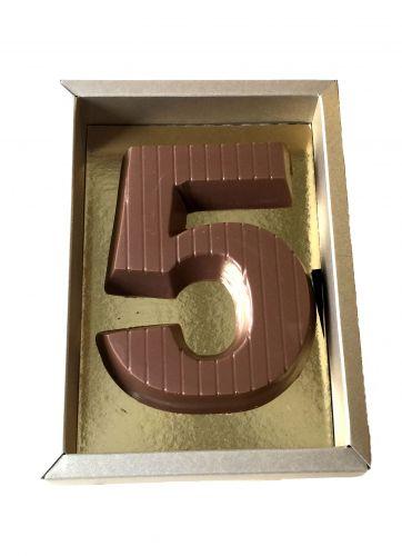 1403 Cijfer groot verpakt in luxe goud doos