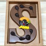 Chocolade letter 200 gram deco piet 1