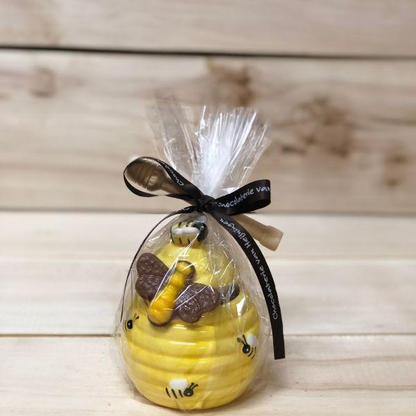 Honingpotje gevuld