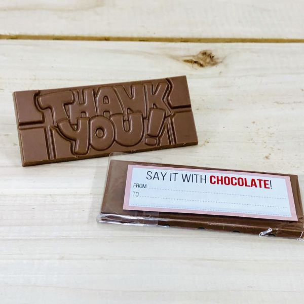 Say it with chocolate thank you